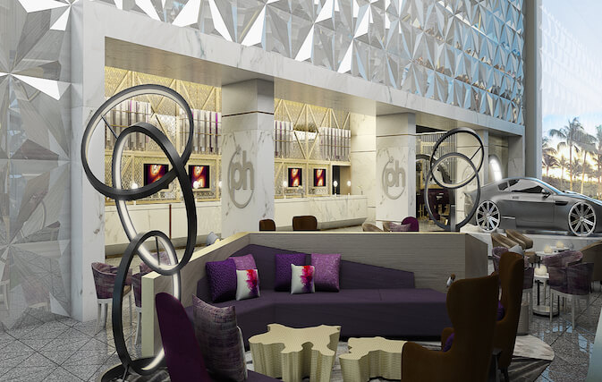 Planet Hollywood Beach Resort Cancun lounge