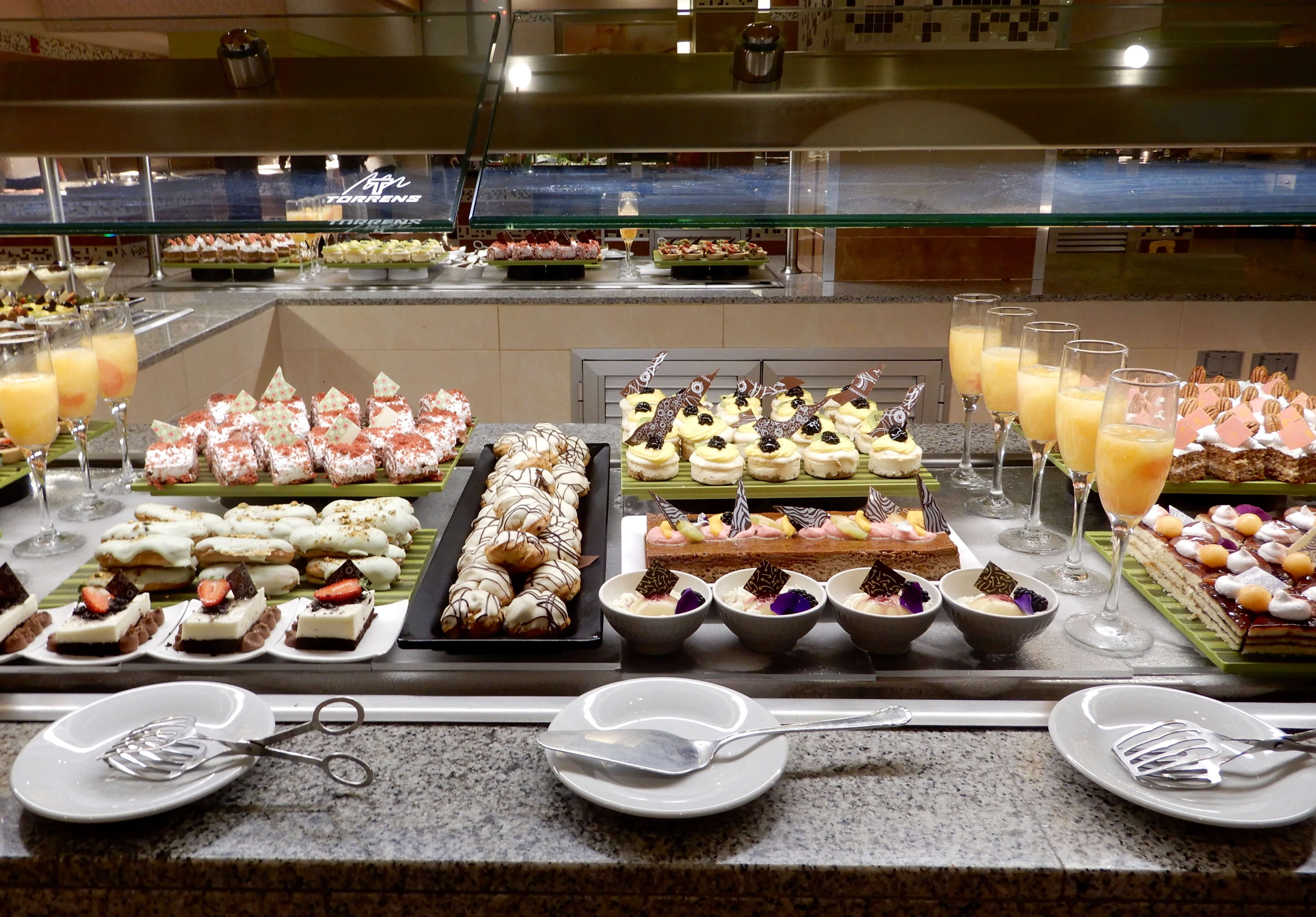 buffet riu palace costa mujeres