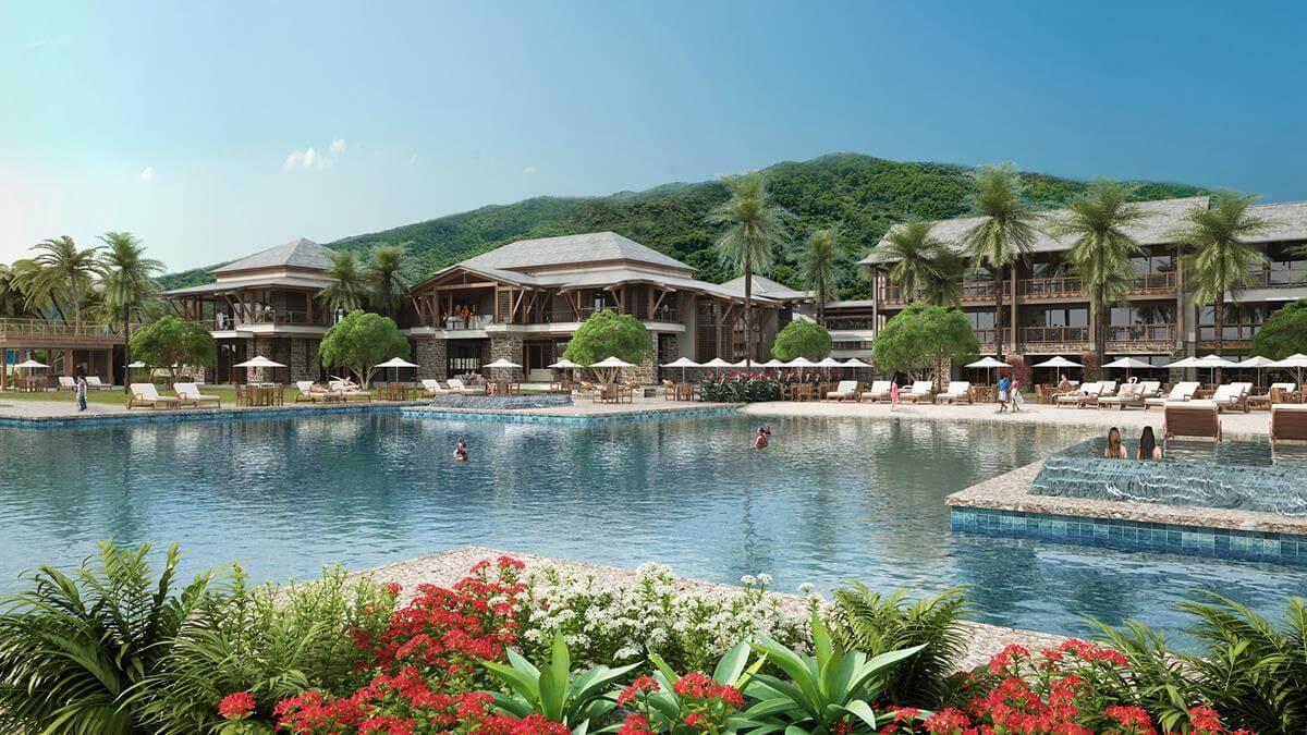 Cabrits Resort & Spa Kempinski Dominica piscine