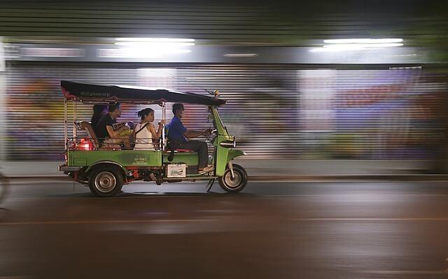 tuk tuk thailande