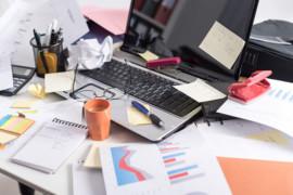 Dites adieu au désordre sur votre bureau, surtout à la maison!