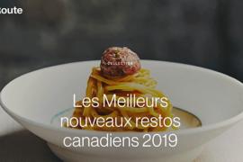 Air Canada annonce les 10 meilleurs nouveaux restos canadiens 2019