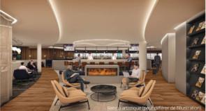 Découvrez le futur salon vedette de Westjet à Calgary