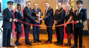 Air Transat célèbre son premier vol entre Montréal et La Nouvelle-Orléans