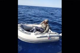 Vacances en solitaire : une touriste secourue après avoir flotté deux jours à bord d'un canot