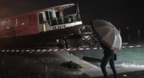 Venise inondée par une « acqua alta » historique