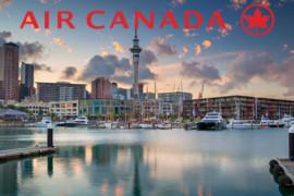 Air Canada inaugure sa nouvelle liaison vers la Nouvelle Zélande au départ de Vancouver