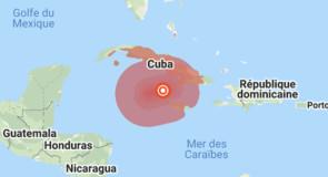 Caraibes: plus d'alerte tsunami mais quelques dégâts