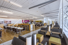 [VIDÉO] Découvrez les salons de l'aéroport de Montréal