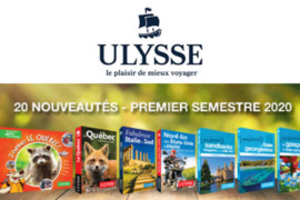 Ulysse annonce la sortie de 20 nouveaux guides de voyage