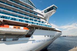 Découvrez les destinations du Diamond Princess pour sa première saison
