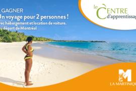[Formation] Martinique : suivez ce cours en ligne et courez la chance de remporter un voyage pour deux!