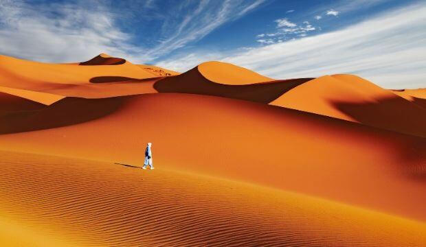 VOYAGEZ DE LA MAISON : un détour dans le désert du Sahara