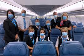 Les vols commerciaux de Transat sont de retour: voici un aperçu à bord!