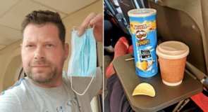 Voici l'astuce d'un passager britannique pour ne pas porter son masque dans l'avion sans enfreindre de règles