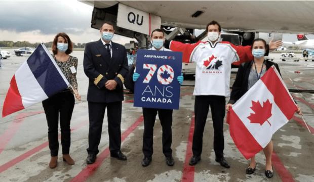 Air France KLM fête ses 70 ans de présence au Canada! Découvrez les images d'archives!