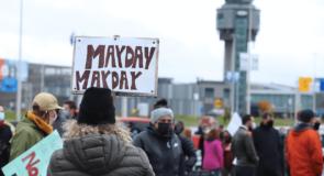"""Des manifestations à Ottawa et Québec pour """"sauver l'industrie aérienne"""""""