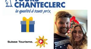 """Voici le gagnant du concours """"J'ai besoin de Suisse"""" de Tours Chanteclerc!"""