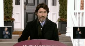 Justin Trudeau s'exprime sur les restrictions des voyages internationaux