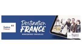 Destination France 2021 en mode virtuel : les inscriptions sont ouvertes et des prix à gagner!