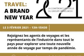 """Ne manquez pas la conférence """"Future of Travel"""" qui se déroule aujourd'hui à 13 heures!"""