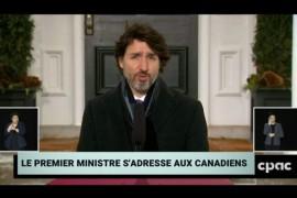 Trudeau annonce un test PCR obligatoire pour le passage des frontières terrestres à partir du 15 février